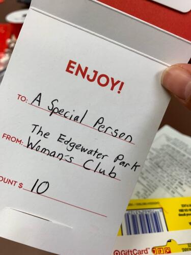 Gift card Womens club