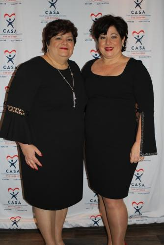 carmella and roseann red carpet